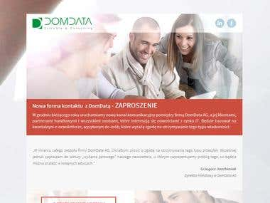 DomData Email Marketing Campaign Template