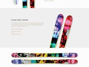 Ski E-commerce