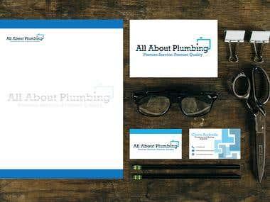 Plumbing Business Corporate Identity
