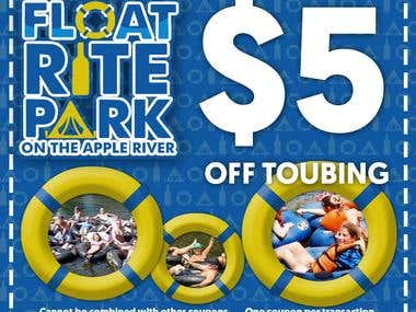 $5 off Tubing coupon