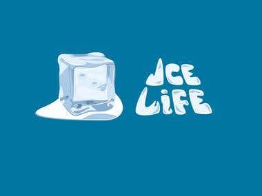 Ice Life logo