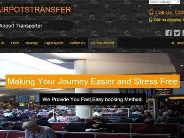 Airport Taxi Booking Web Site