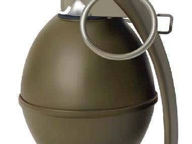 Photorealistic Grenade
