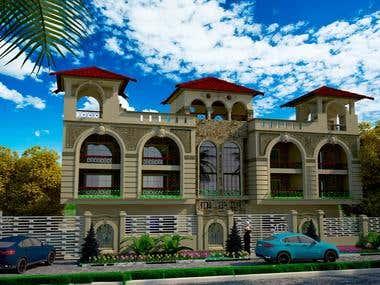 3d villa project