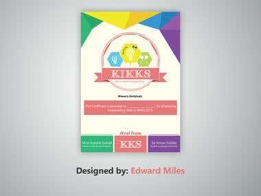 Certificate for KIKKS
