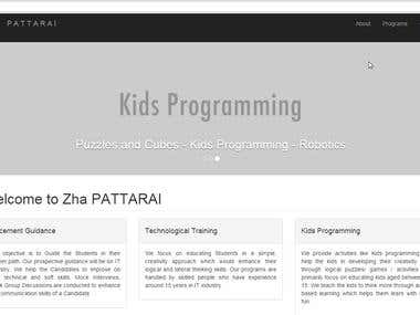 Coded a Bootstrap website