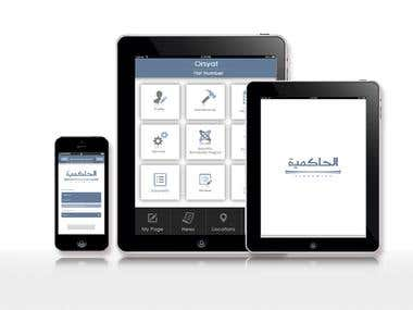 Native IOS app for Alhakmiah Real Estate firm