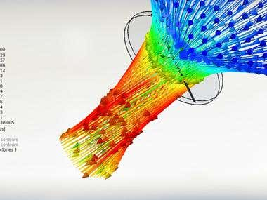 CFD simulation using SolidWorks