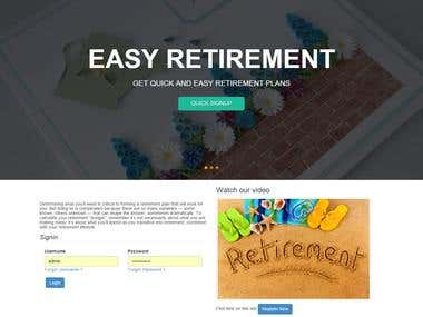 Retirement Management System (ERP)