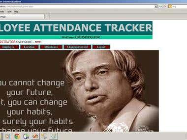 attendence tracker