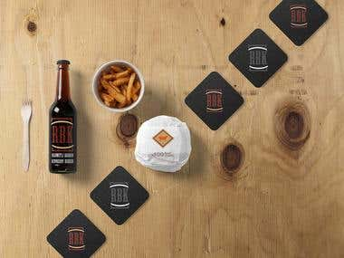 RBK Burger Company Identify