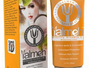 Package design of YALMEH product