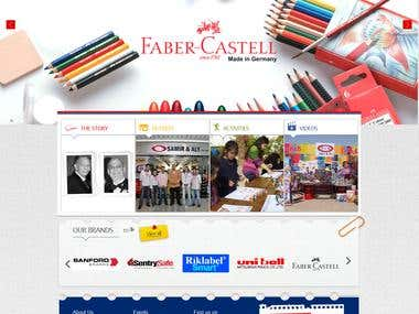Website for a famous Egyptian Stationary