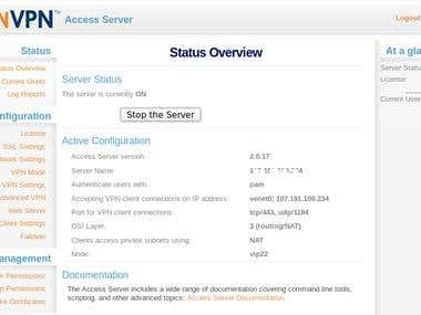 Installation of OpenVPN Server on a RamNode VPS