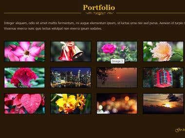 WEB PAGE PORTFOLIO