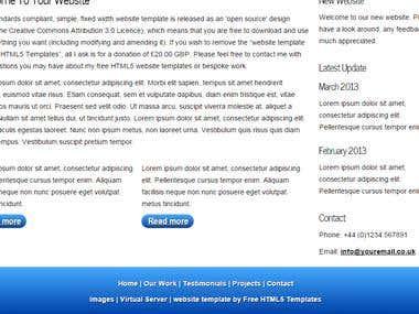 WEB PAGE 2
