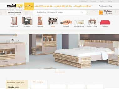 Online Store Mebeltop