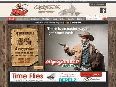 Online store Roping World