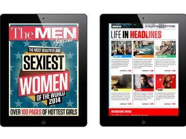 Digital Magazine Design