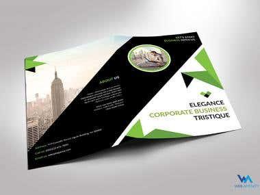Elegance Bi Fold Brochure