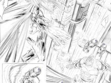 Page/Comics