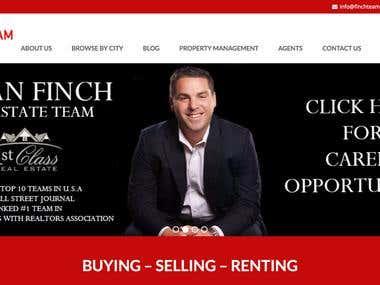 Finch Team Website