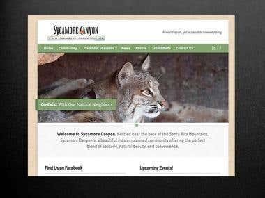 Wordpress Website for Home Owners Association (HOA)