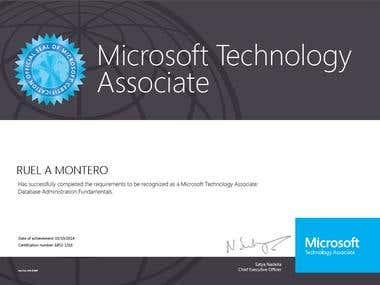 Microsoft Technology Associate Certificate