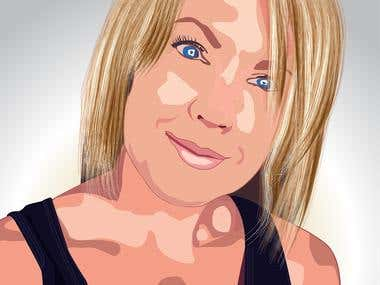 Portrait illustration !