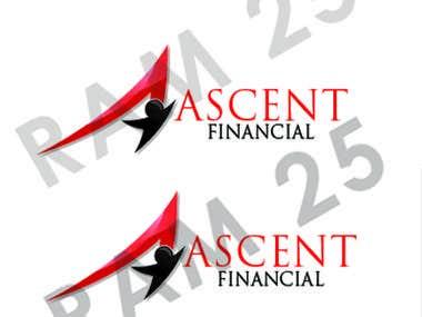 A logo design for financial company