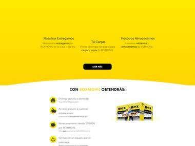 Boxmovil.cl Wordpress / Woocommerce