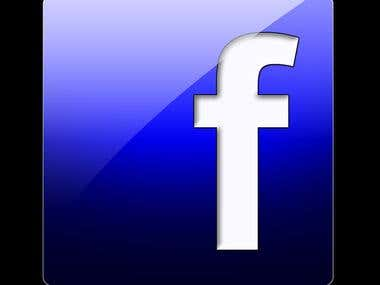 Real and active targeted Facebook likes
