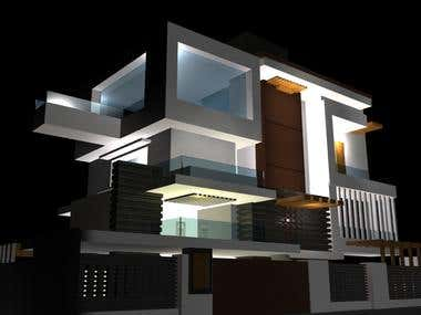 3D Models Architecture Designs Interior and Exterior