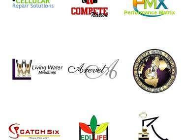 Set of 9 logos 2