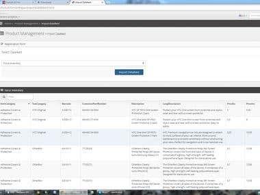 BigCommerce Admin Panel
