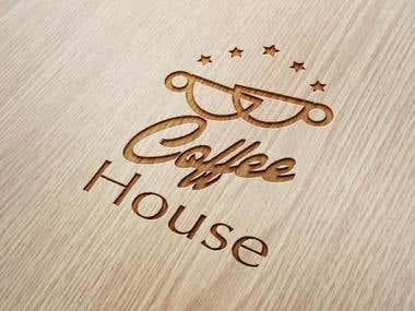 Coffee House Logo Template