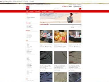 BSL Limited - online store for suitings
