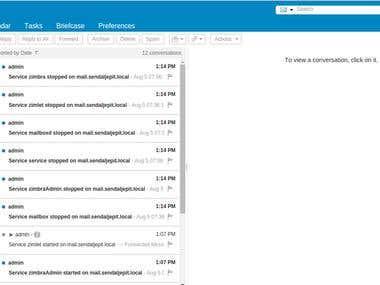 Configure MailServer(Zimbra) on AWS