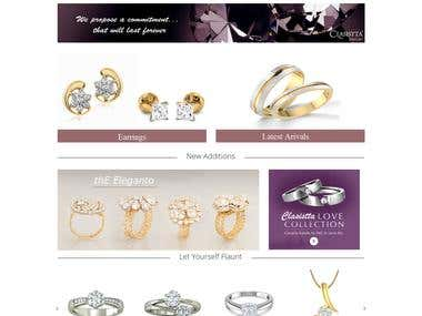 Diamonds and Jewellery website