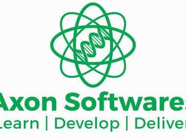 Vector Logo : Axon Softwares