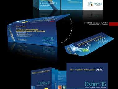Brochure, Flyer and Invitation Card - Ostim and Perossal
