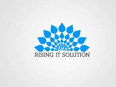 Logo Design for Rising IT Solution