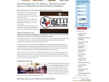 Texas Flooring -http://texashardwoodflooring.com/