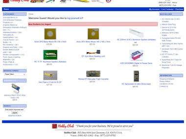 Oscommerce to Zencart Conversion/Migration