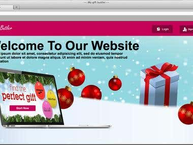 MyGiftBuilder Web Application