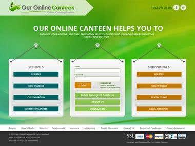 Online canteen