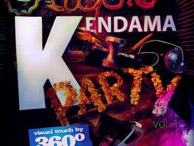 Liquid Kendama - Poster