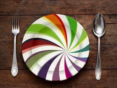 Plastic Plate Design
