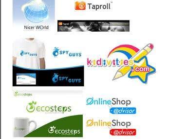 Logo Design & banner design