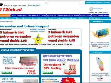 112ink Online Store